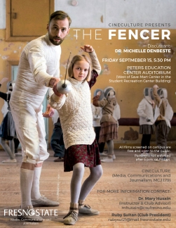 the-fencer CineCutlure flyer