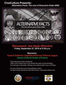 CineCulture Flyer - Alternative Facts2