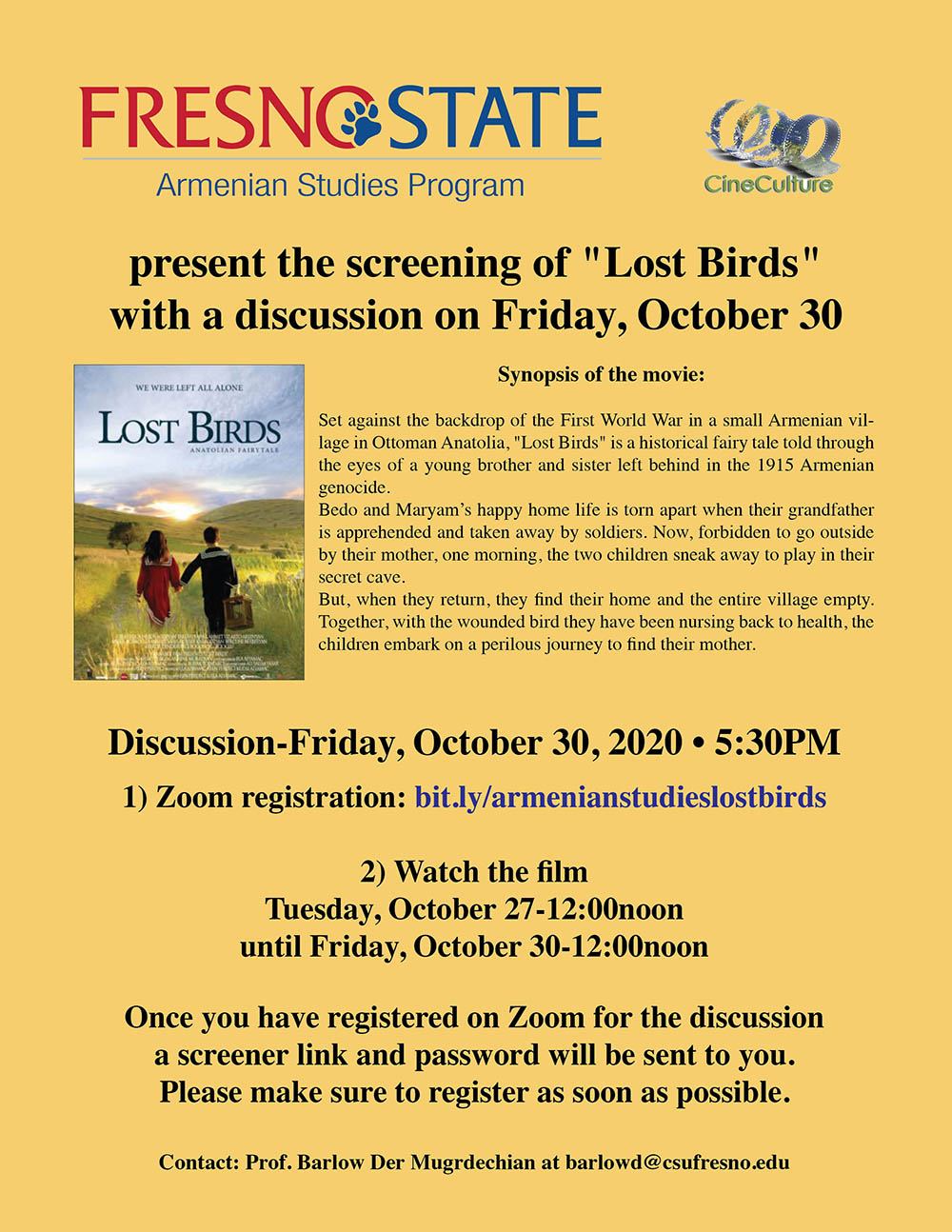 cineculture-lost-birds-october-30-2020-flyer